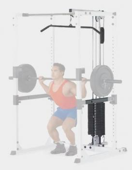 Опция верхняя тяга Body Solid GLA77