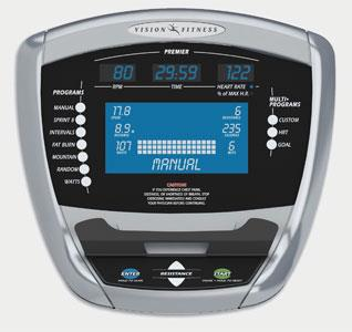 Эллиптический эргометр Vision X6200 Premier_2009