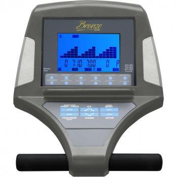 Эллиптический тренажер эргометр Bronze Gym E1000 PRO