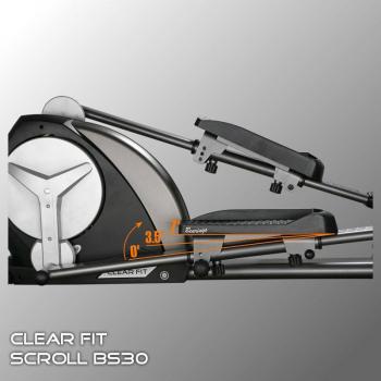 Эллиптический тренажер Clear Fit Scroll BS 30 Big Step