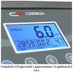 Складная беговая дорожка Carbon T404