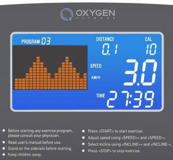 Беговая дорожка Oxygen Riviera III ML